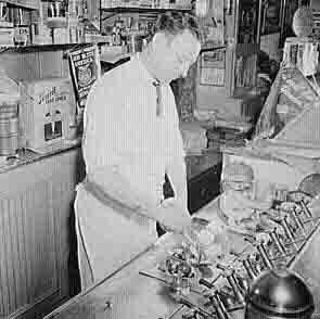 Drug store soda fountain history